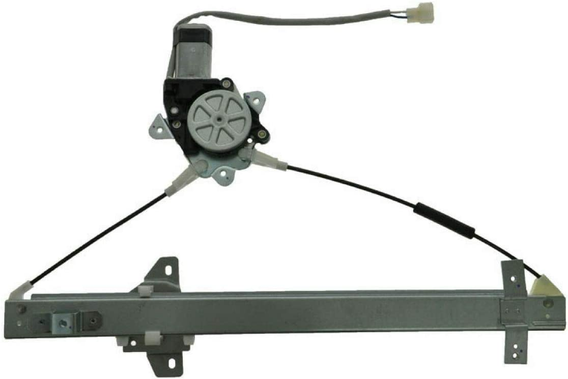 Front Power Large discharge Indianapolis Mall sale Window Regulator w Right Compatib Passenger RH Motor