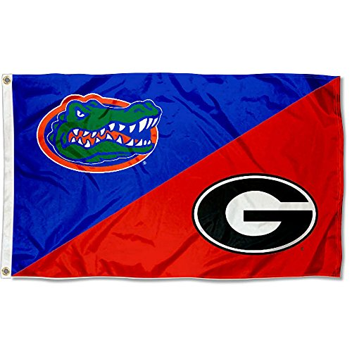 College Flags & Banners Co. UF vs UGA House Divided 3x5 Flag