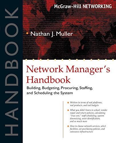 Network Manager's Handbook