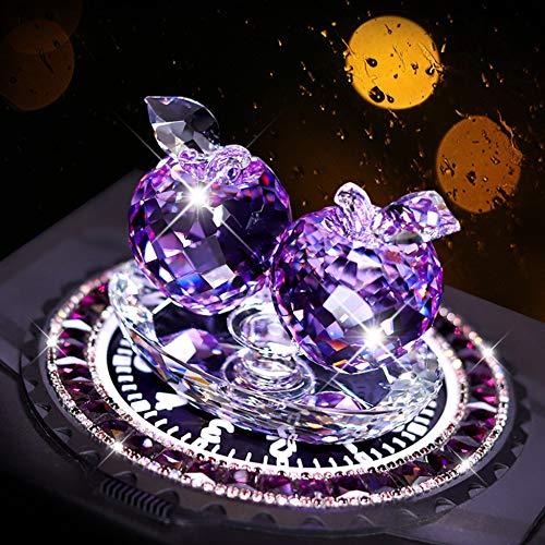 Apple Briefbeschwerer Kunstglas Obst Sammlerfiguren Geschenke Home Wedding Decor Ornament