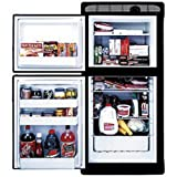 NORCOLD INC 2 Way Refrigerator Flush Mount Built-in SELF Venting 2 Door,1.7 Cubic FT Freezer,5.3 Cubic FT Fridge
