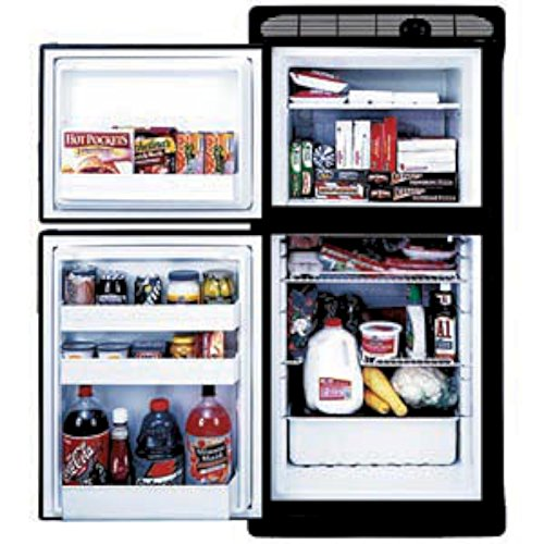 NORCOLD INC 2 Way Refrigerator Flush Mount Built-in SELF Venting 2 Door,1.7 Cubic FT Freezer,5.3 Cubic FT Fridge