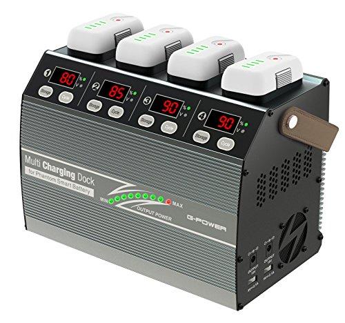 ジーフォース Multi Charging Dock for Phantom3 & 4 DJI Phantom3&Phantom4バッテリー 4本同時急速充電対応充電器 G0241 [日本正規品]