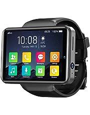 KOSPET Note 4G Smartwatch, 2,4 inch IPS HD-touchscreen 3G RAM 32GB ROM Android smartwatch met GPS Dual camera's, gezicht-ID, 2000mAh batterij, hartslagmeting voor heren
