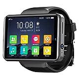 KOSPET Note 4G Smart Watch 2,4 pollici IPS HD Touch Screen 3G RAM 32GB ROM Android Smartwatch con GPS Dual Camera ID, Batteria 2000mAh Misurazione della frequenza cardiaca per uomo