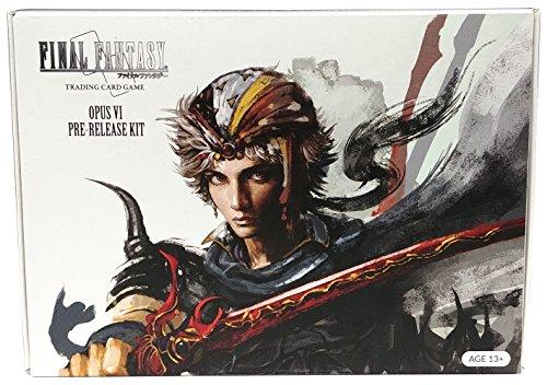 Final Fantasy Opus VI / 6 – Pre-Release Kit en italiano TCG – Juego de cartas – 6 sobres + papel de aluminio