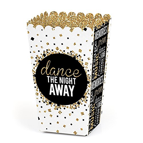 Prom - Prom Night Party Favor Popcorn Treat Boxes - Set of 12