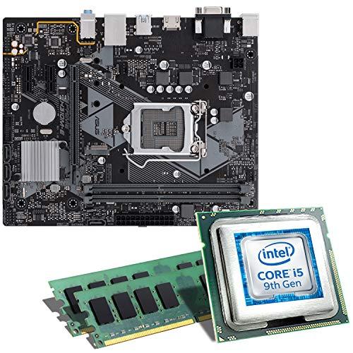 Intel Core i5-9400F / ASUS Prime H310M-E Mainboard Bundle / 16GB | CSL PC Aufrüstkit | Intel Core i5-9400F 6X 2900 MHz, 16GB DDR4-RAM, GigLAN, 7.1 Sound, USB 3.1 | Aufrüstset | PC Tuning Kit