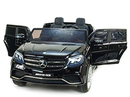 RC Auto kaufen Kinderauto Bild 6: Allrad f 2 Kinder XXL Kinderelektroauto kinderauto Mercedes GLS 63 4x4 gefedert Zweisitzer Kinderelektrofahrzeug 12V Jeep Offroader*