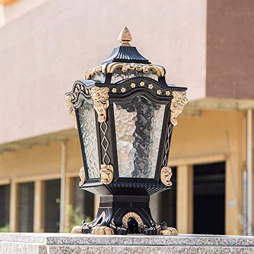 Lámpara de pared al aire libre Continental Lámpara de mesa impermeable Lámpara de columna Lámpara de poste Luces de jardín al aire libre Lámpara de pared Hogar Villa Valla Luces al aire libre Lámpara