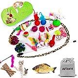 Best Cat Toys - 29 PCS Cat Toys Kitten Toys Assortments,Variety Catnip Review