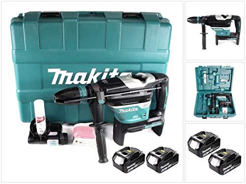 Makita DHR 400 M2U 2 x 18 V / 36 V Li-Ion Akku Bohrhammer Kombihammer SDS-Max im Koffer + 2 x 4,0 Ah Akku - ohne Ladegerät