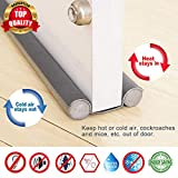 Smart Saver Sound-Proof Reduce Noise Energy Saving Weather Stripping Under Door Twin Draft