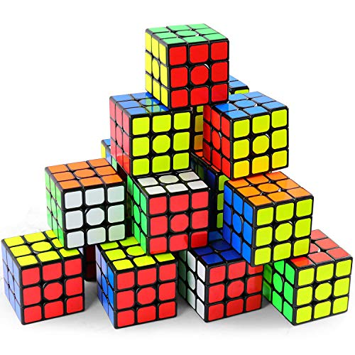 Full Size 3×3×3 Cube Set,Puzzle Party Toy, Eco-Friendly Material...