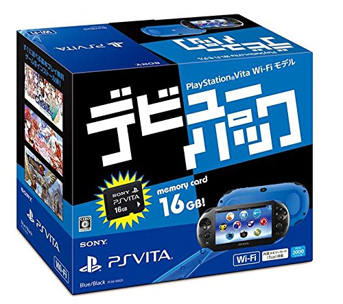 PSVita Slim Debut Pack - Blue & Black
