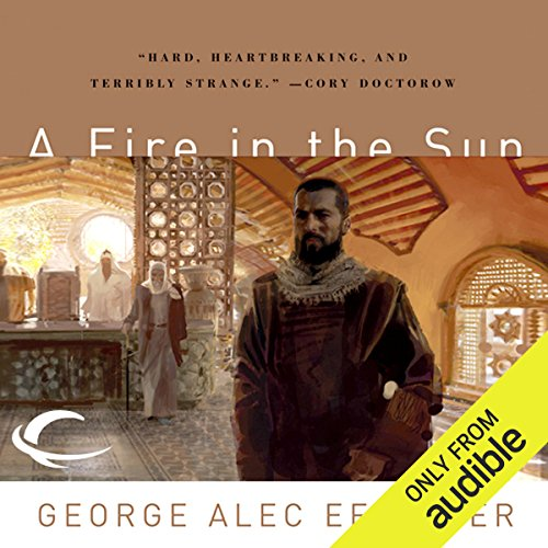 A Fire in the Sun audiobook cover art