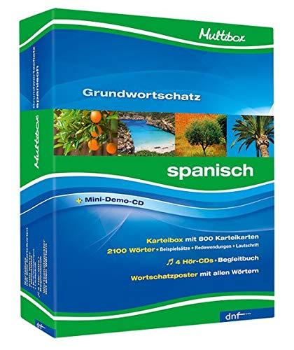Multibox XXL Grundwortschatz Spanisch Niveau A1+A2