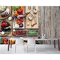 3D壁紙ポスターベジタブルボードカスタム大規模な壁紙の壁紙3Dテレビの背景リビングルームの写真の壁紙3Dルームの壁紙-450X300cm(177 x 118インチ)