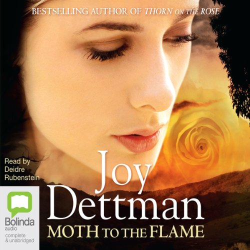 Moth to the Flame audiobook cover art