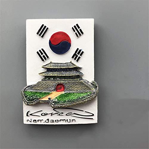 ZCQBCY Magnet de réfrigérateur 3D résine Sticker magnétique pour Asie, Thaïlande, Corée et Japon Japon Voyage Souvenir Aimants pour la décoration Home House House School Bureau de Cuisine,9