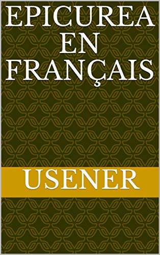 EPICUREA en français (French Edition)