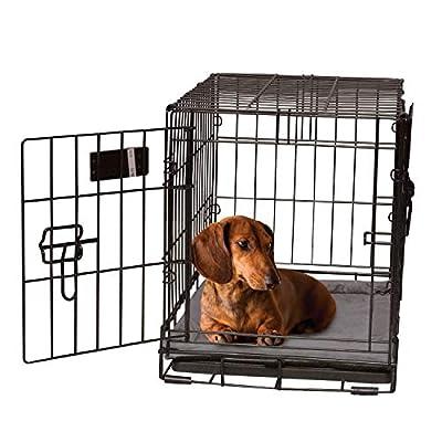 "K&H Pet Productsself-Warming Pet Crate Pad, 20"" x 25"", Gray"