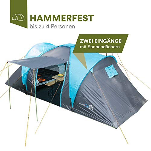 skandika Hammerfest 4 - Tiendas de campaña Familiar - túnel - mosquiteras en los dormitorios