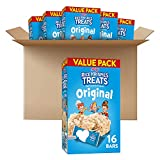 Kellogg's Rice Krispies Treats Original Marshmallow Bars - Classic Kid School Snack, Bulk Size, Single Serve (Pack of 6 Boxes - 96 Count), 0.78 Ounce (Pack of 96)