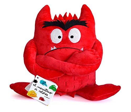 El monstruo de colores. Peluche rojo