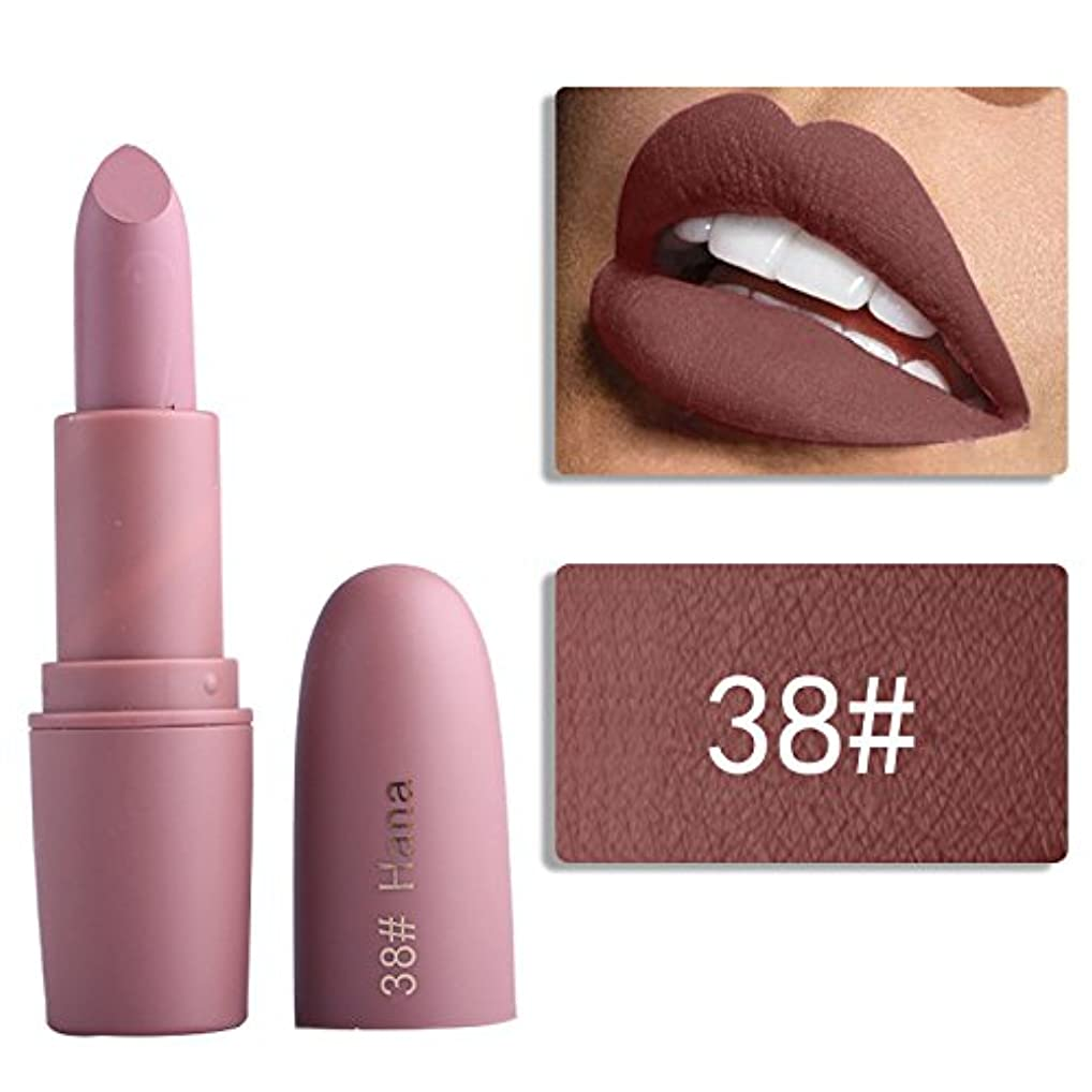 原子炉暴君割合Miss Rose Nude Lipstick 22 colors Waterproof Vampire Brown Beauty Baby Lips Batom Matte lipstick Makeup Tats Eugenie Margherita