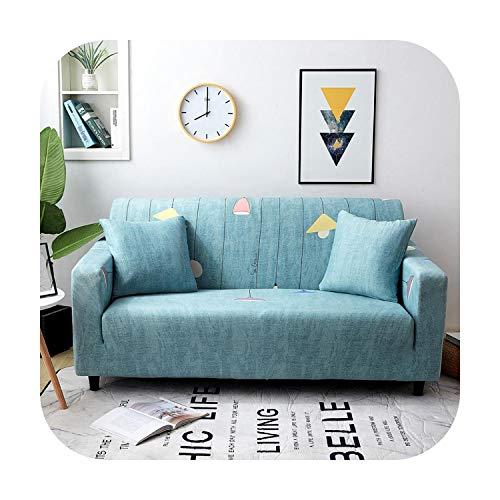 Funda de sofá doble de poliéster para sofá de dos plazas, para sofá o sillón de 1/2/3/4 plazas