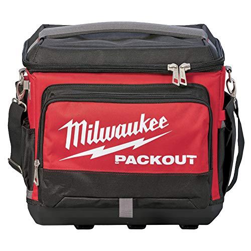 Milwaukee Packout 932471132 Refroidisseur de chantier Rouge