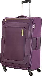 حقيبة سفر صغيرة من American Tourister Duncan ناعمة متوسطة الحجم، أرجواني، 68 سم دوارة