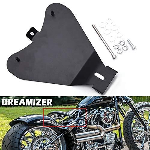 DREAMIZER Motorrad Solo Sitz Grundplatte, Metall Custom Bobber Sitzplatte für Sportster 48 XL883 1200