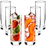 Highball Glasses with Heavy Base, Clear...