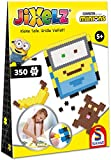 Schmidt Spiele 46107 Jixelz, Minions, 350 Teile, Kinder-Bastelsets, Kinderpuzzle