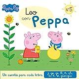 Un cuento para cada letra: j, ge, gi, ll, ñ, ch, x, k, w, güe-güi (Leo con Peppa Pig 5)