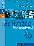 SCHRITTE INTERNATIONAL 3+4.Intensivtr+CD: Intensivtrainer mit Audio-CD 3 & 4