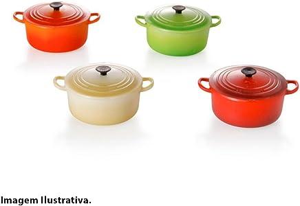 Le Creuset 940050006461, Caixa com 4 Ímãs de Geladeira, Multicor