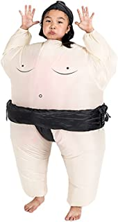 Inflatable Sumo Wrestler Wrestling Suits for Kids Halloween Costume
