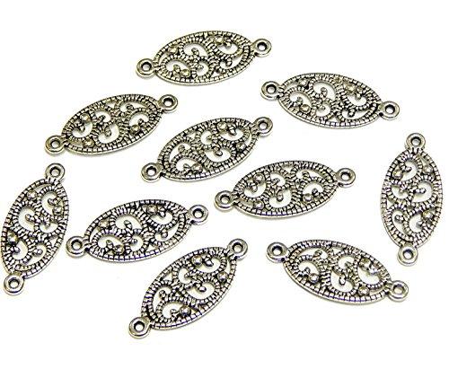 10 colgantes de plata tibetana F129