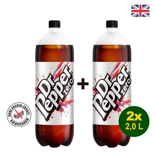 Dr Pepper Zero 2x 2 Liter