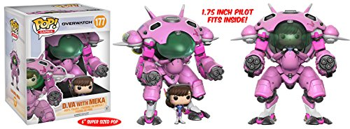 Overwatch Pop & Buddy! Games D.VA with Meka Vinyl Figure! 2-Pack