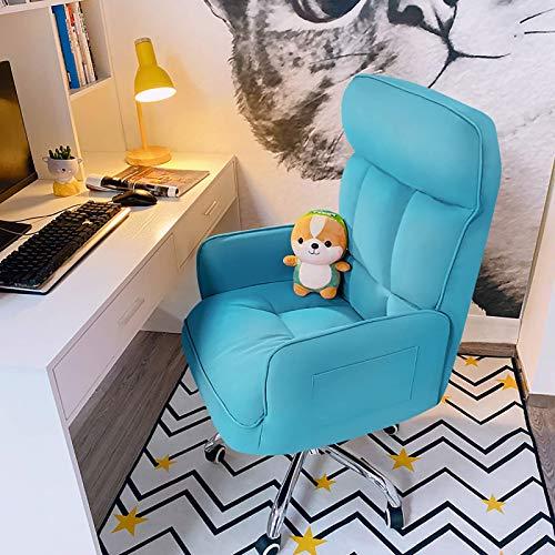 HUABAO Mecedora, Mecedora Creativa Sillón de salón Sofá Individual Personalidad Sofá Lindo Forma de plátano Seis Colores