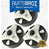 285753A (3-Pack) Motor Coupling for Whirlpool & Kenmore Direct Drive Washing Machines by PartsBroz - Replaces AP3963893, 1195967, 280152, 285140, 285743, 3364002, 3364003, 62693, ER285753, PS1485646