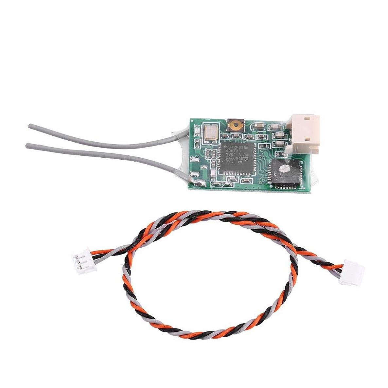 Alomejor Compatible SPEKTRUM DSMX/DSM2 Tramsmitter Part 2.4G Satellite Receiver with Switch
