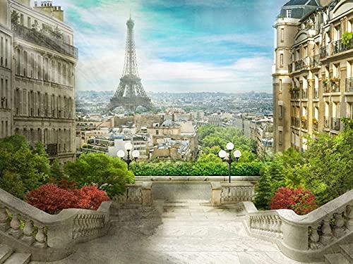 ZMGYA Puzzle Infantil, 1000 Piezas,Eiffel tower-1500Edad Recomendada 8+ Regalo de cumpleaños for Adultos descompresión Juego de Niños Educat