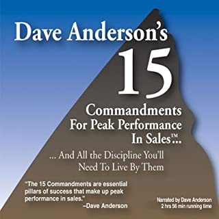 The 15 Commandments for Peak Performance in Sales audiobook cover art