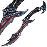 MedievalDepot Demon Daedric Warrior Role Play Foam Dagger