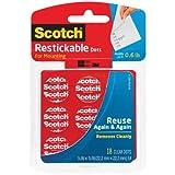 Scotch Mounting Tabs - Etiquetas despegables reutilizables
